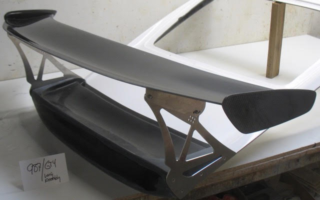 Cayman 987 GT4 Wing Assembly-part