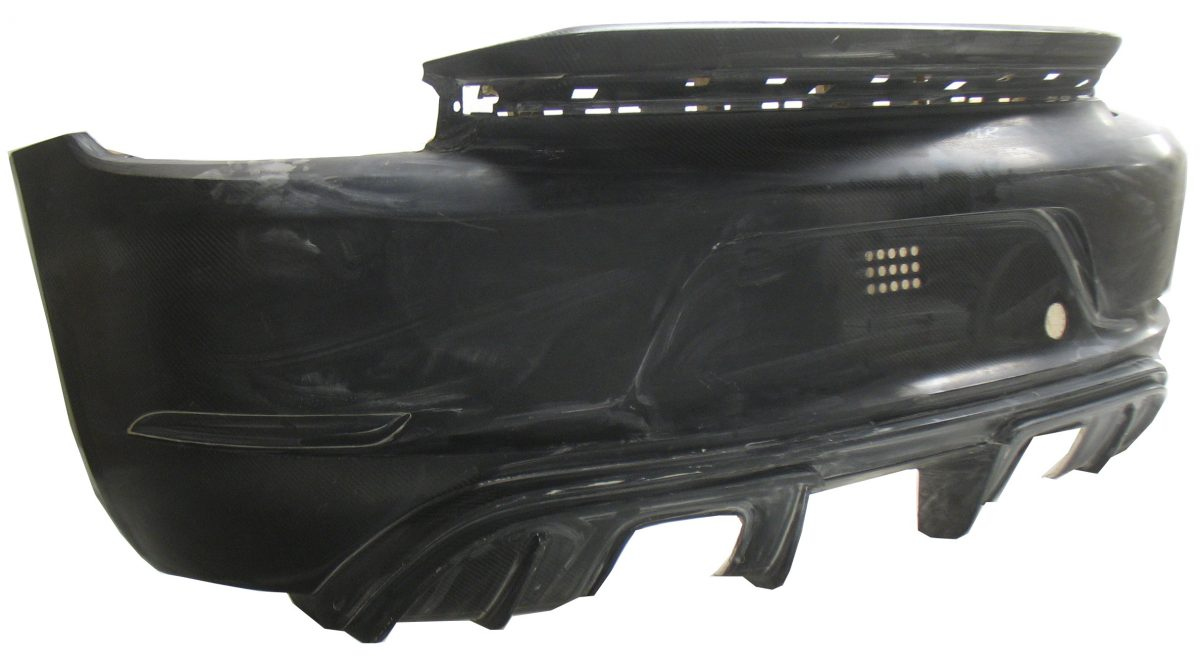 718 GT4 Rear Bumper Part