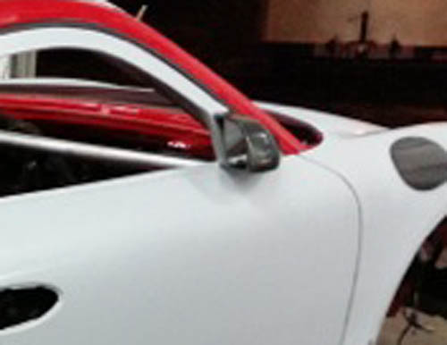 718 mirrors car
